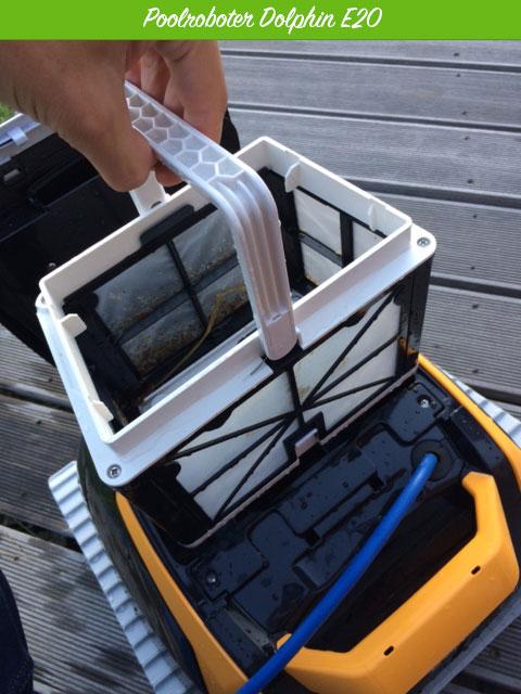 Leicht herausnehmbarer Filterkorb