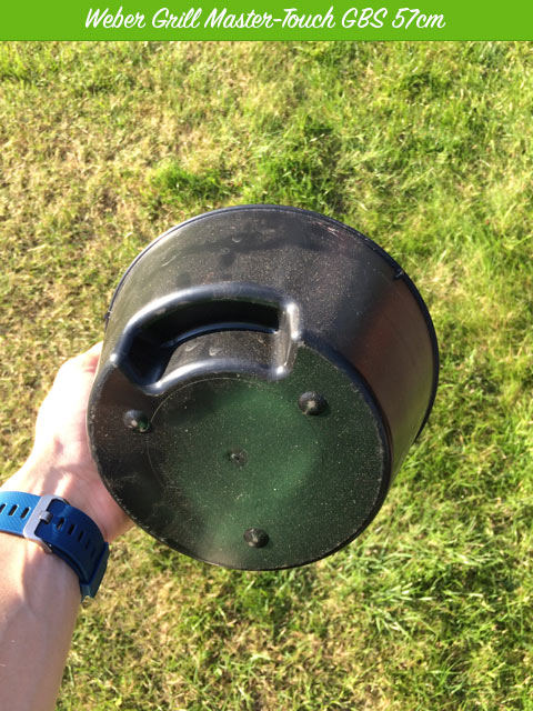 Weber Kohlebehälter zum Nachlegen von Koheln